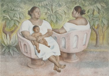 Francisco Zúñiga, 'Yucatecas en la parque,' 1986, Heritage Auctions: Holiday Prints & Multiples Sale