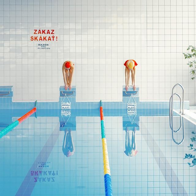 , '1,2,3 (Swimimg Pool) ,' 2015, Momentum Fine Art