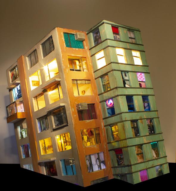 , 'Communist apartment #1 (collaboration with Idan Levin),' 2013, Studio la Città