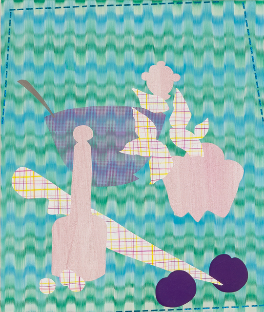 , 'Still Life with Violet Bowl 4,' 2015, Asya Geisberg Gallery