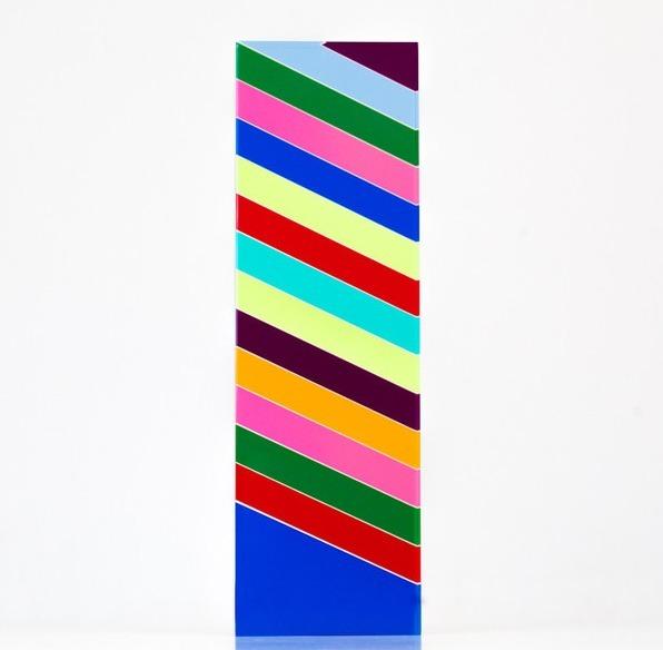 Vasa, '15 Stripes', 2004, Sculpture, Acrylic, Caviar20