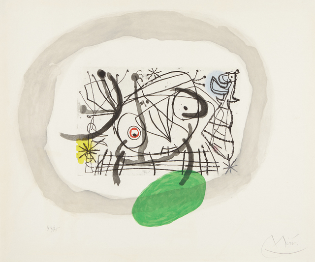 Joan Miró, 'Fissures: one plate', 1969, Phillips