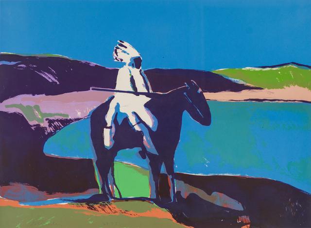 Fritz Scholder, 'Indian at the Lake', Larsen Gallery