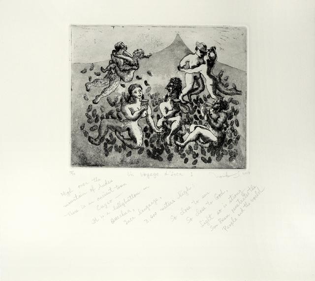 , 'Un Voyage d' Inca I,' 2004, Ronin Gallery