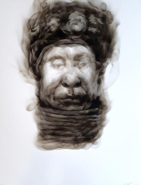 , 'A stiff upper lip (Benin queen mother),' 2017, David Krut Projects