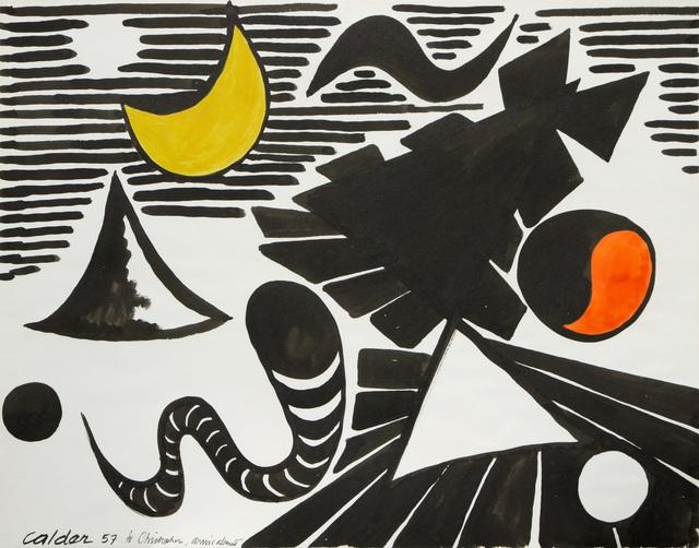 , 'Untitled ,' 1957, Omer Tiroche Gallery