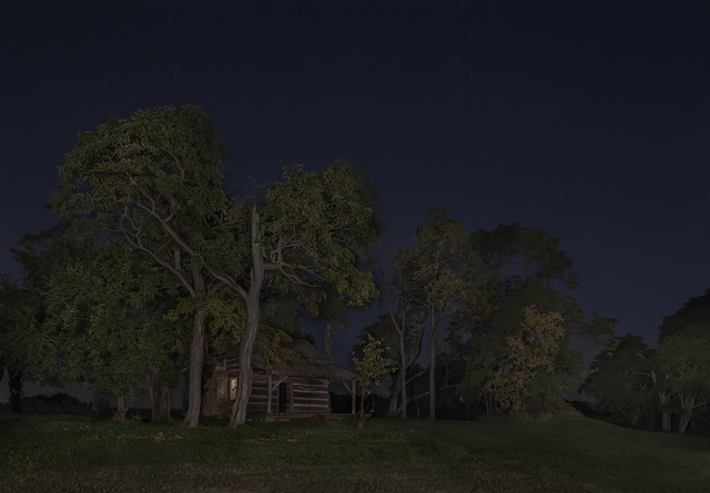 , 'On the Safest Route, James and Rachel Sillivan cabin, Pennville, Indiana,' 2014, Arnika Dawkins Gallery