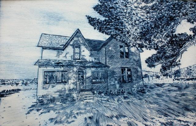 , 'Shadows, Kelderhouse Farm,' , Arthur Secunda Museum