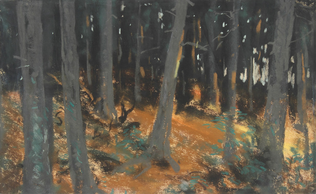 , 'The Woods at Sunset,' 1918, Alexandre Gallery
