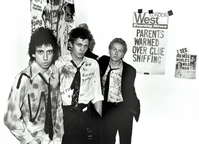 Sheila Rock, 'The Clash,'Sniffin Glue' Camden Town, London   ', 1977, ElliottHalls