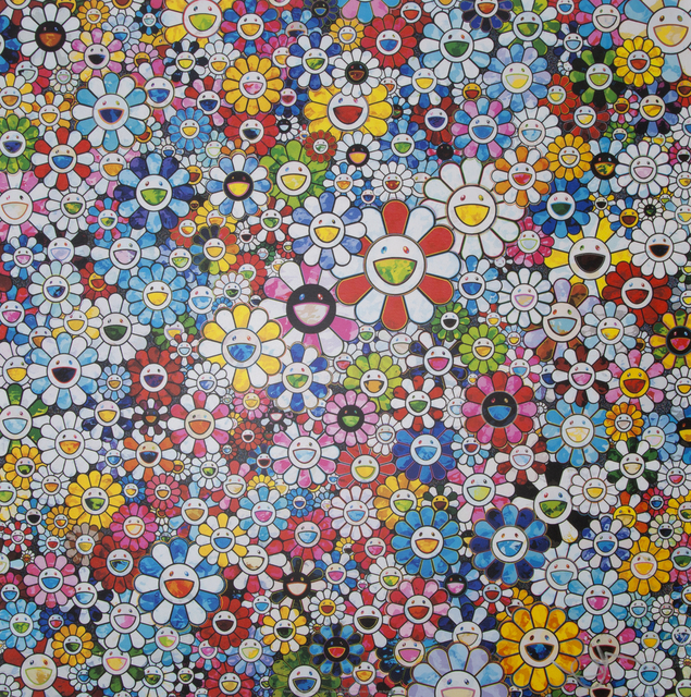 Takashi Murakami, 'Flowers with Smiley Faces', 2013, Julien's Auctions