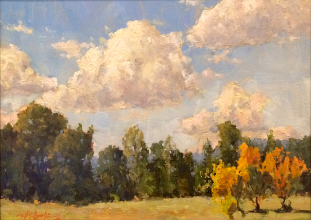 , 'Clouds Over West Pasture,' , Beverly McNeil Gallery