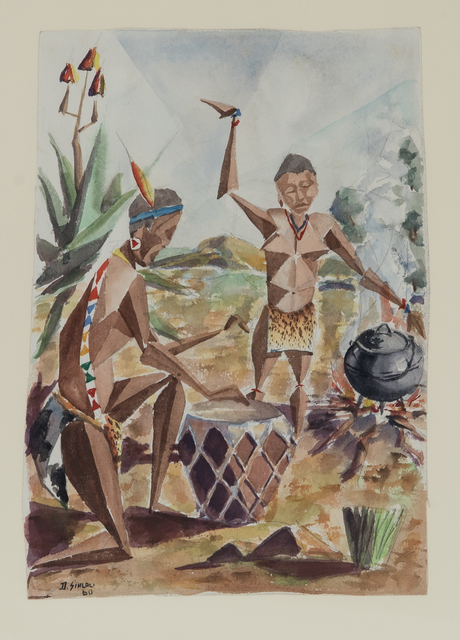 , 'Traditional Dance,' 1960, Gallery MOMO