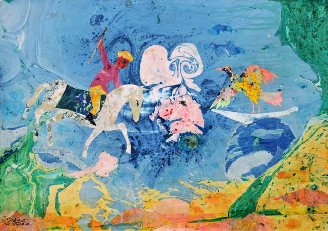, 'The White Horse ,' 2016, Tabari Artspace