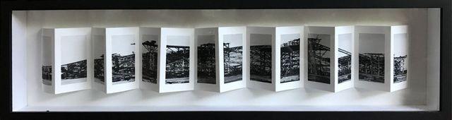 , 'Palais des Machienes plegado 2,' 2015, Artemisa Gallery