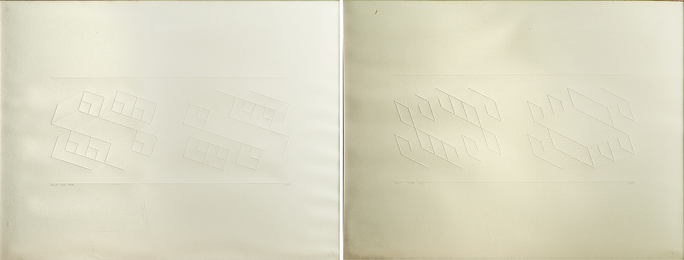 Embossed Linear Construction (ELC) 1-A and 1-B