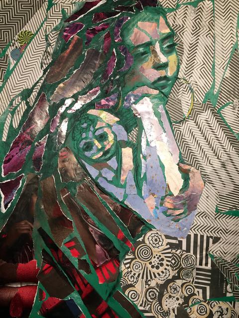 Audrey Anastasi, 'Green Tattoo', 2019, Tabla Rasa Gallery
