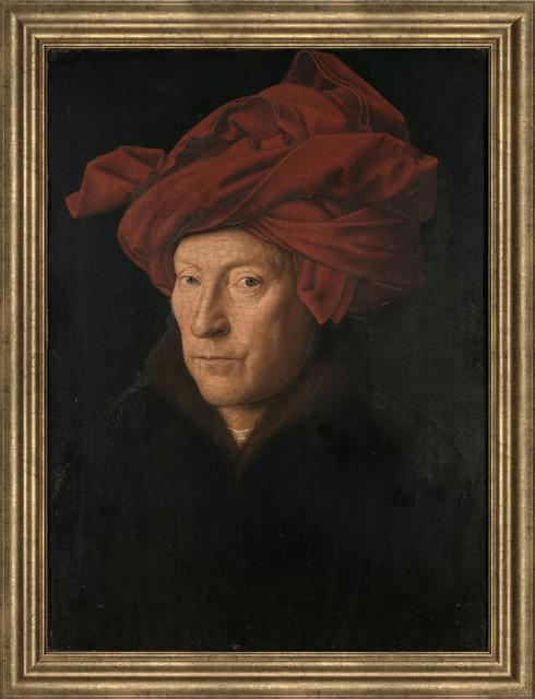 Jan van Eyck, 'Portrait of a Man', (Date unknown), Reproduction, Giclee, ArtWise