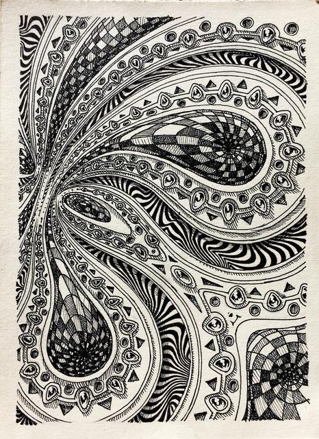 , 'Mandala Study 1, Zipolite, Mexico,' 2017, Mirus Gallery