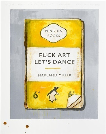 , 'Fuck Art Let's Dance,' 2017, Maddox Gallery
