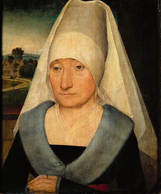 Hans Memling, 'Portrait of an elderly woman', Erich Lessing Culture and Fine Arts Archive