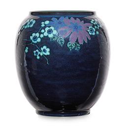 Jewel Porcelain vase with prunus branches (uncrazed), Cincinnati, OH