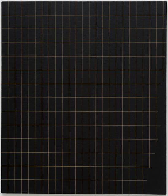 , 'Sem título (grade com recorte lateral inferior) [Untitled (grid with side trim)],' 2017, Casa Triângulo