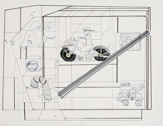 , 'Ride Off,' 2016/2017, Anglim Gilbert Gallery