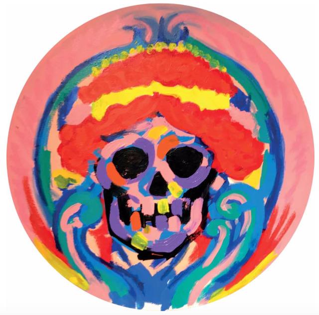 , 'Skull Red Hair ,' 2016, Maddox Gallery
