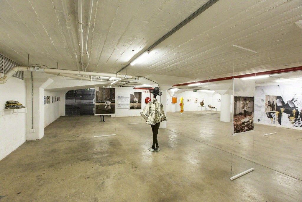 The Project Space at MOAD displaying a previous exhibition.