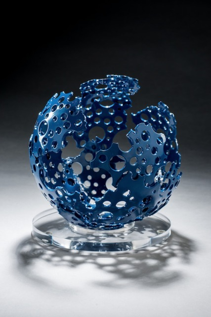 , 'Blue Shadow Sphere,' 2015, Christopher Martin Gallery