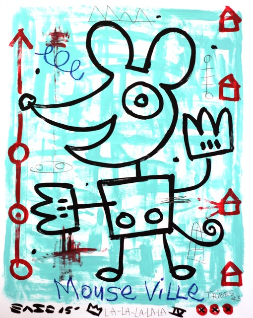 Gary John, 'Mouse Ville (framed)', 2015, Artspace Warehouse