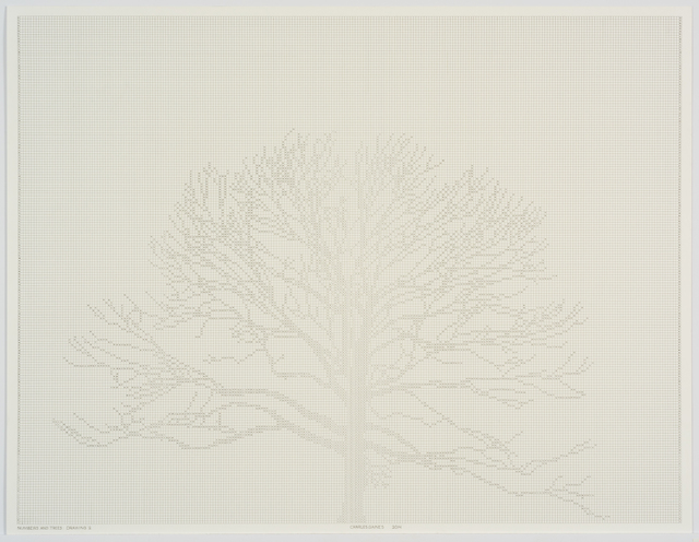 , 'Numbers and Trees: Drawing 4,' 2014, Susanne Vielmetter Los Angeles Projects