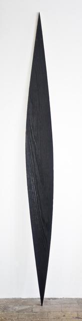 , 'Black Ellipse,' 2015, COSAR HMT