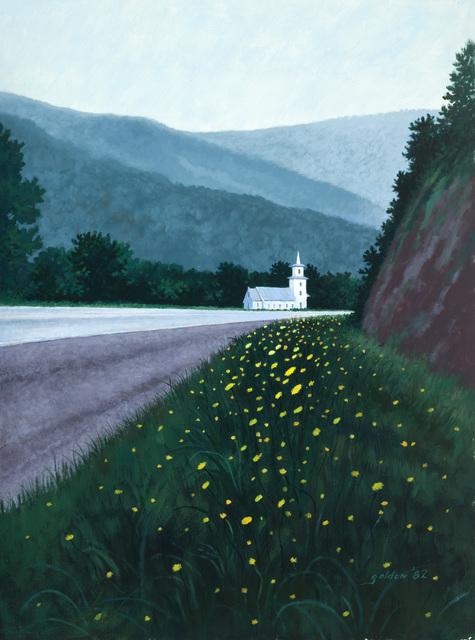 , 'Vermont Church,' 1982, Mac-Gryder Gallery