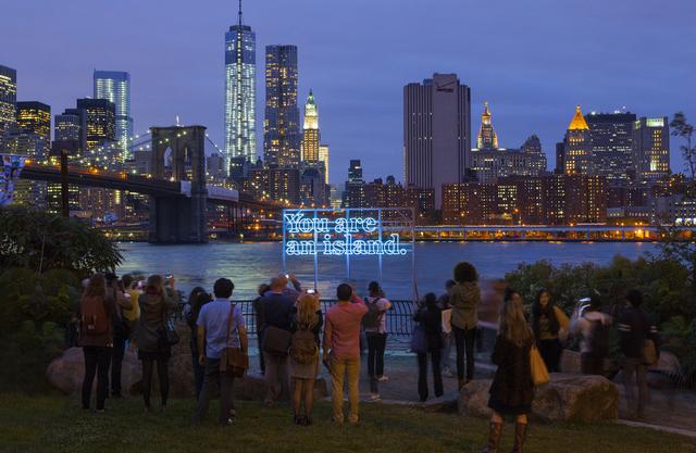 Alicia Eggert, 'You Are (On) An Island (New York)', 2015, Sienna Patti Contemporary