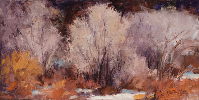 , 'Winter Cottonwoods,' 2018, Owen Contemporary