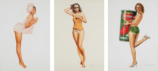 Hajime Sorayama, 'Three works: (i-iii) Untitled', ca. late 1970s, Phillips