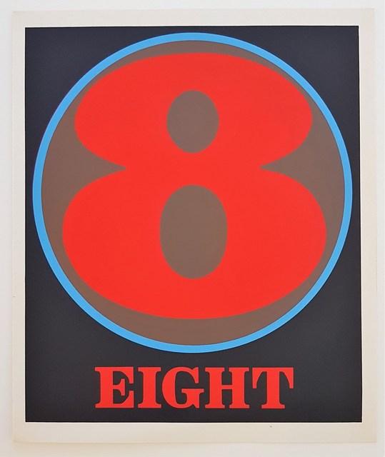 "Robert Indiana, 'Numbers Suite: ""Eight""', 1968, Cerbera Gallery"