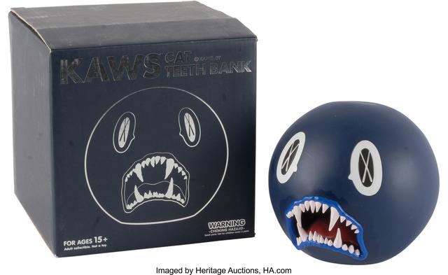 KAWS, 'Cat Teeth Bank (Navy)', Heritage Auctions
