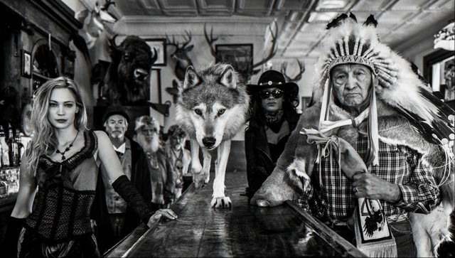 David Yarrow, 'Crazy Horse', ca. 2018, Photography, Archival Pigment Photograph, Samuel Lynne Galleries