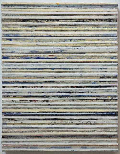 , 'White, Ochre, Blue, Black,' 2016, Garvey | Simon