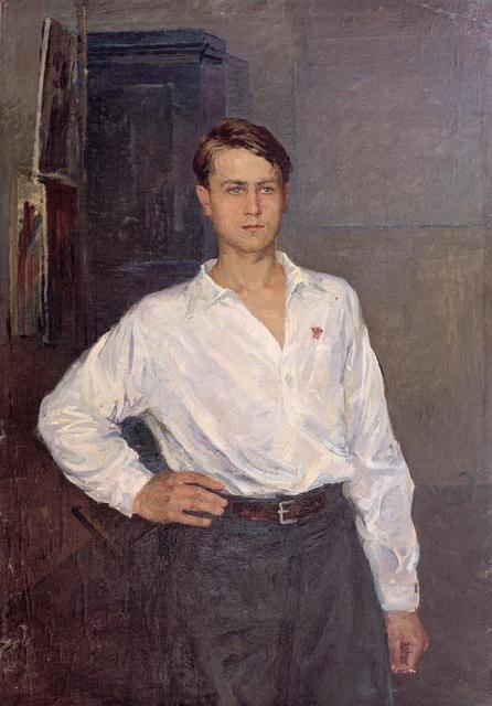 , 'Portrait of a Komsomol Member,' 1950, Hakgojae Gallery