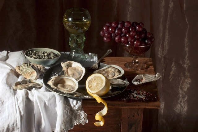 Paulette Tavormina, 'Oysters, after W.C.H.,' 2008, Robert Klein Gallery