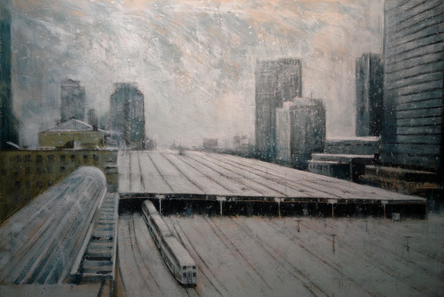 , 'View from 602,' 2013, AREA Gallery