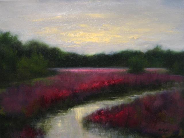 Penny Billings, 'Purple Loosestrife Field', 2019, Handwright Gallery