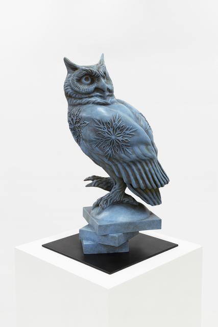 , 'Bronze Owl #2,' 2017, RYAN LEE