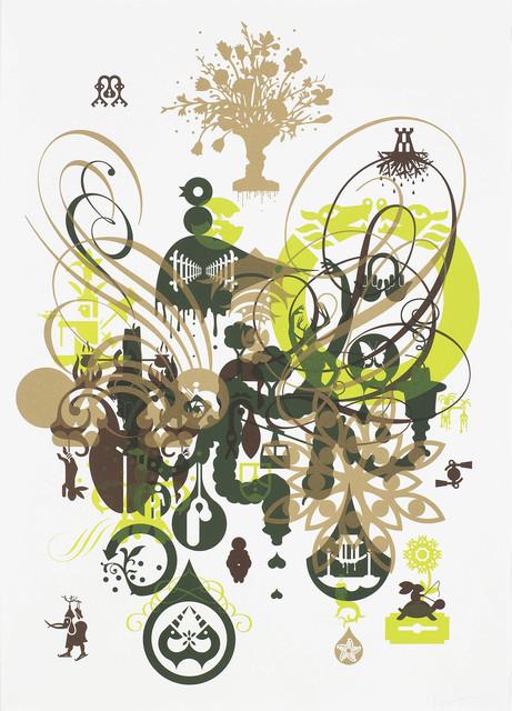 Ryan McGinness, 'Soma 4', 2012, Print, Original lithograph, Edition Copenhagen