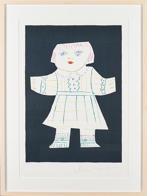 "Pablo Picasso, 'Two Artworks: Une Poupee Decoupee; Femme à la Mandoline""', Print, Two lithographs in colors (framed separately), Rago/Wright"