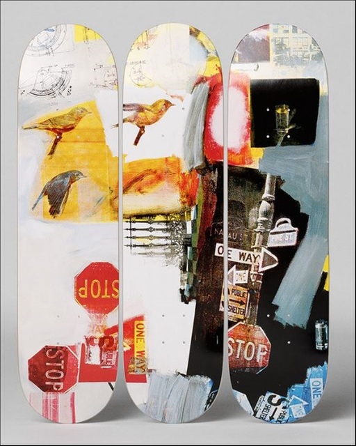 , 'Overdrive (Set of three (3) Limited Edition Skate Decks with mounting hinges),' 1963-2014, Alpha 137 Gallery